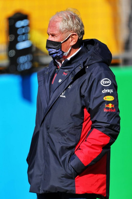 Dr Helmut Marko (AUT) Red Bull Motorsport Consultant on the grid. 11.10.2020. Formula 1 World Championship, Rd 11, Eifel Grand Prix, Nurbugring, Germany, Race Day. - www.xpbimages.com, EMail: requests@xpbimages.com © Copyright: Moy / XPB Images