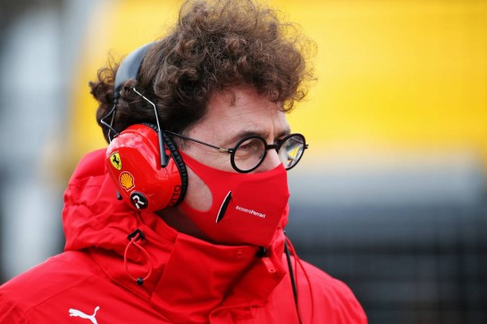 Mattia Binotto (ITA) Ferrari Team Principal on the grid. 11.10.2020. Formula 1 World Championship, Rd 11, Eifel Grand Prix, Nurbugring, Germany, Race Day. - www.xpbimages.com, EMail: requests@xpbimages.com © Copyright: Batchelor / XPB Images