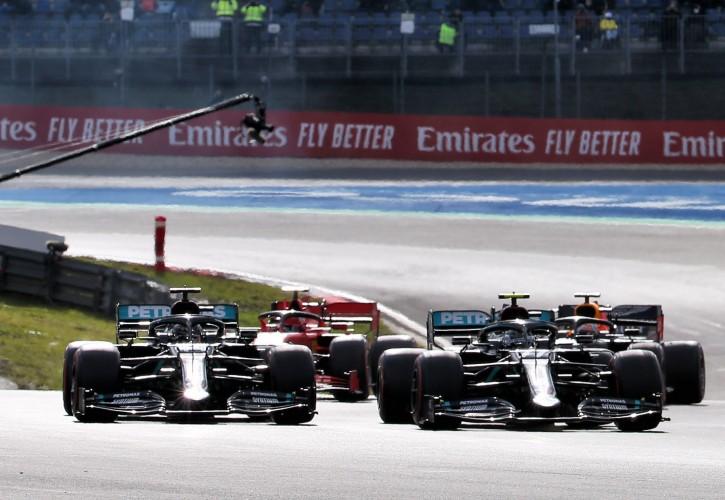 Hamilton Equals Schumacher's 91 F1 Wins After Eifel GP Victory