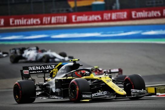 Esteban Ocon (FRA) Renault F1 Team RS20. 11.10.2020. Formula 1 World Championship, Rd 11, Eifel Grand Prix, Nurbugring, Germany, Race Day. - www.xpbimages.com, EMail: requests@xpbimages.com © Copyright: Batchelor / XPB Images