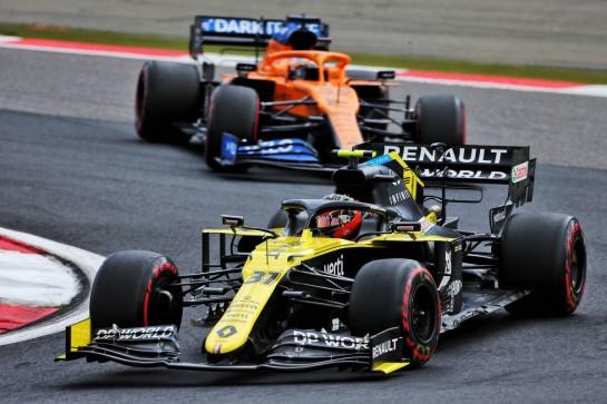 Esteban Ocon (FRA) Renault F1 Team RS20. 11.10.2020. Formula 1 World Championship, Rd 11, Eifel Grand Prix, Nurbugring, Germany, Race Day. - www.xpbimages.com, EMail: requests@xpbimages.com © Copyright: Charniaux / XPB Images