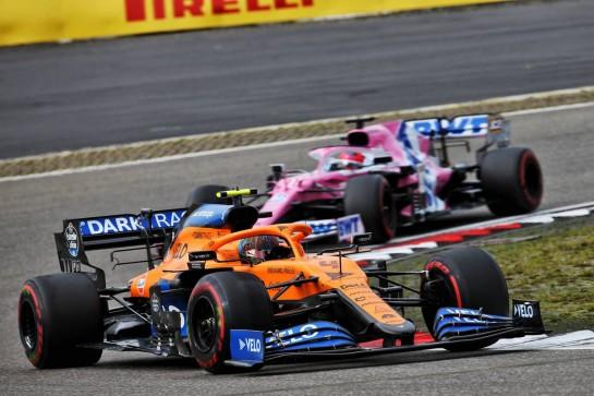 Lando Norris (GBR) McLaren MCL35. 11.10.2020. Formula 1 World Championship, Rd 11, Eifel Grand Prix, Nurbugring, Germany, Race Day. - www.xpbimages.com, EMail: requests@xpbimages.com © Copyright: Batchelor / XPB Images
