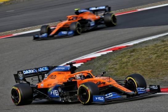 Carlos Sainz Jr (ESP) McLaren MCL35. 11.10.2020. Formula 1 World Championship, Rd 11, Eifel Grand Prix, Nurbugring, Germany, Race Day. - www.xpbimages.com, EMail: requests@xpbimages.com © Copyright: Batchelor / XPB Images