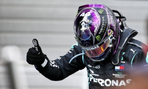 Hamilton takes record-equalling win after Bottas sidelined