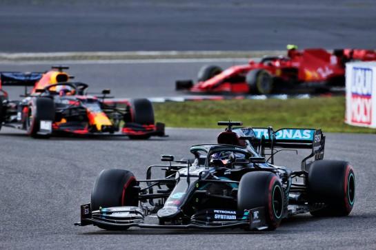 Lewis Hamilton (GBR) Mercedes AMG F1 W11. 11.10.2020. Formula 1 World Championship, Rd 11, Eifel Grand Prix, Nurbugring, Germany, Race Day. - www.xpbimages.com, EMail: requests@xpbimages.com © Copyright: Batchelor / XPB Images