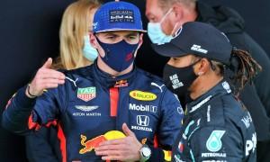 'Second is where we belonged today' - Verstappen