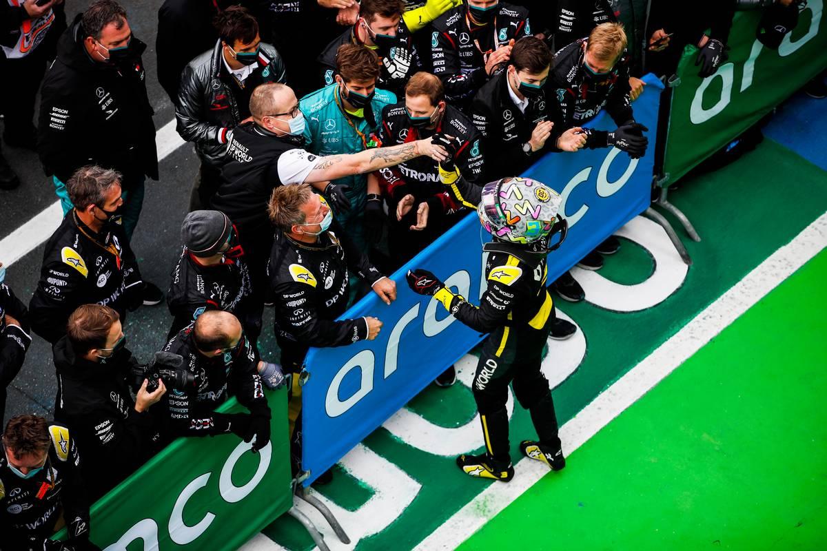 Eight more F1 personnel test positive for coronavirus