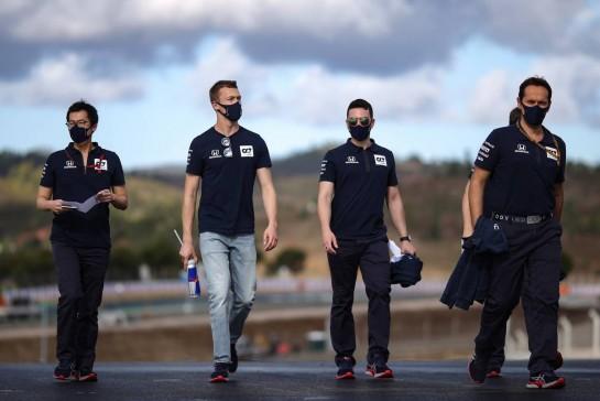 Daniil Kvyat (RUS), AlphaTauri F1 22.10.2020. Formula 1 World Championship, Rd 12, Portuguese Grand Prix, Portimao, Portugal, Preparation Day.- www.xpbimages.com, EMail: requests@xpbimages.com © Copyright: Charniaux / XPB Images