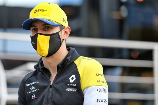 Esteban Ocon (FRA) Renault F1 Team. 22.10.2020. Formula 1 World Championship, Rd 12, Portuguese Grand Prix, Portimao, Portugal, Preparation Day. - www.xpbimages.com, EMail: requests@xpbimages.com © Copyright: Moy / XPB Images