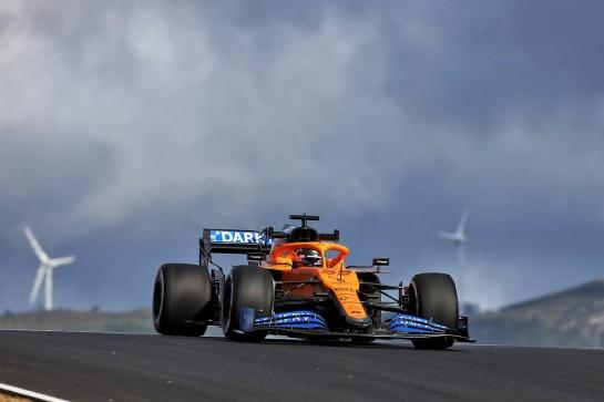 Carlos Sainz Jr (ESP) McLaren MCL35. 23.10.2020. Formula 1 World Championship, Rd 12, Portuguese Grand Prix, Portimao, Portugal, Practice Day. - www.xpbimages.com, EMail: requests@xpbimages.com © Copyright: Charniaux / XPB Images