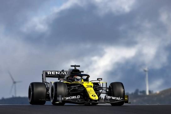 Daniel Ricciardo (AUS), Renault F1 Team 23.10.2020. Formula 1 World Championship, Rd 12, Portuguese Grand Prix, Portimao, Portugal, Practice Day.- www.xpbimages.com, EMail: requests@xpbimages.com © Copyright: Charniaux / XPB Images