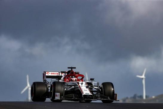 Kimi Raikkonen (FIN), Alfa Romeo Racing 23.10.2020. Formula 1 World Championship, Rd 12, Portuguese Grand Prix, Portimao, Portugal, Practice Day.- www.xpbimages.com, EMail: requests@xpbimages.com © Copyright: Charniaux / XPB Images
