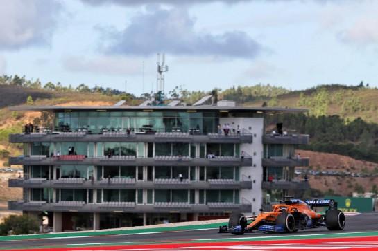 Carlos Sainz Jr (ESP) McLaren MCL35. 23.10.2020. Formula 1 World Championship, Rd 12, Portuguese Grand Prix, Portimao, Portugal, Practice Day. - www.xpbimages.com, EMail: requests@xpbimages.com © Copyright: Batchelor / XPB Images