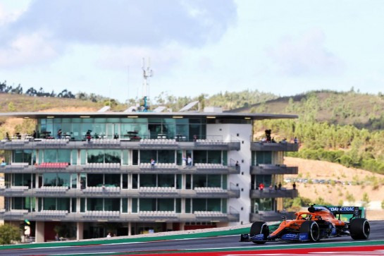 Lando Norris (GBR) McLaren MCL35. 23.10.2020. Formula 1 World Championship, Rd 12, Portuguese Grand Prix, Portimao, Portugal, Practice Day. - www.xpbimages.com, EMail: requests@xpbimages.com © Copyright: Batchelor / XPB Images