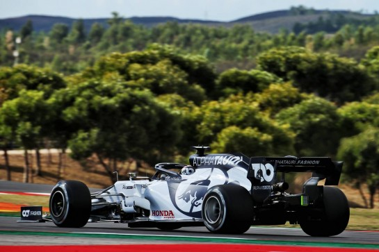 Daniil Kvyat (RUS) AlphaTauri AT01. 23.10.2020. Formula 1 World Championship, Rd 12, Portuguese Grand Prix, Portimao, Portugal, Practice Day. - www.xpbimages.com, EMail: requests@xpbimages.com © Copyright: Batchelor / XPB Images