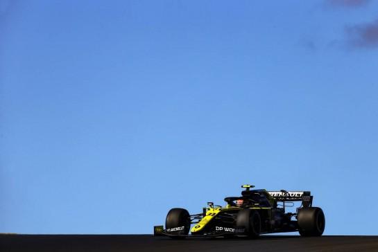 Esteban Ocon (FRA), Renault F1 Team 23.10.2020. Formula 1 World Championship, Rd 12, Portuguese Grand Prix, Portimao, Portugal, Practice Day.- www.xpbimages.com, EMail: requests@xpbimages.com © Copyright: Charniaux / XPB Images