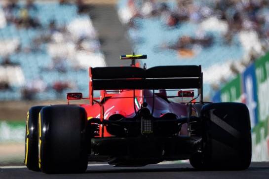 Charles Leclerc (MON) Ferrari SF1000. 23.10.2020. Formula 1 World Championship, Rd 12, Portuguese Grand Prix, Portimao, Portugal, Practice Day. - www.xpbimages.com, EMail: requests@xpbimages.com © Copyright: Bearne / XPB Images