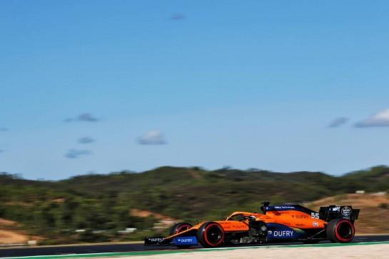 Carlos Sainz Jr (ESP) McLaren MCL35. 24.10.2020. Formula 1 World Championship, Rd 12, Portuguese Grand Prix, Portimao, Portugal, Qualifying Day. - www.xpbimages.com, EMail: requests@xpbimages.com © Copyright: Batchelor / XPB Images