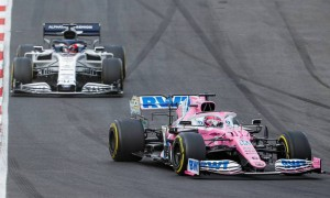 Perez at risk of 10-place grid drop after second Portimão reprimand