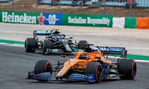 Sainz leading Portuguese GP offered McLaren 'a nice taste'
