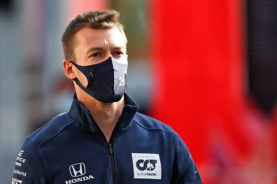 Daniil Kvyat (RUS) AlphaTauri. 30.10.2020. Formula 1 World Championship, Rd 13, Emilia Romagna Grand Prix, Imola, Italy, Practice Day. - www.xpbimages.com, EMail: requests@xpbimages.com © Copyright: Moy / XPB Images