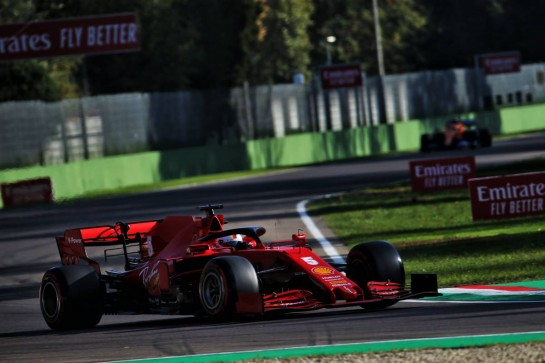Sebastian Vettel (GER) Ferrari SF1000. 31.10.2020. Formula 1 World Championship, Rd 13, Emilia Romagna Grand Prix, Imola, Italy, Qualifying Day. - www.xpbimages.com, EMail: requests@xpbimages.com © Copyright: Batchelor / XPB Images