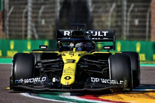 Daniel Ricciardo (AUS) Renault F1 Team RS20. 31.10.2020. Formula 1 World Championship, Rd 13, Emilia Romagna Grand Prix, Imola, Italy, Qualifying Day. - www.xpbimages.com, EMail: requests@xpbimages.com © Copyright: Charniaux / XPB Images