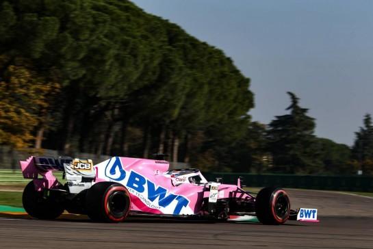 Sergio Perez (MEX), Racing Point 31.10.2020. Formula 1 World Championship, Rd 13, Emilia Romagna Grand Prix, Imola, Italy, Qualifying Day.- www.xpbimages.com, EMail: requests@xpbimages.com © Copyright: Charniaux / XPB Images