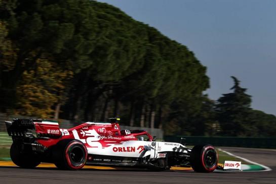 Antonio Giovinazzi (ITA), Alfa Romeo Racing 31.10.2020. Formula 1 World Championship, Rd 13, Emilia Romagna Grand Prix, Imola, Italy, Qualifying Day.- www.xpbimages.com, EMail: requests@xpbimages.com © Copyright: Charniaux / XPB Images