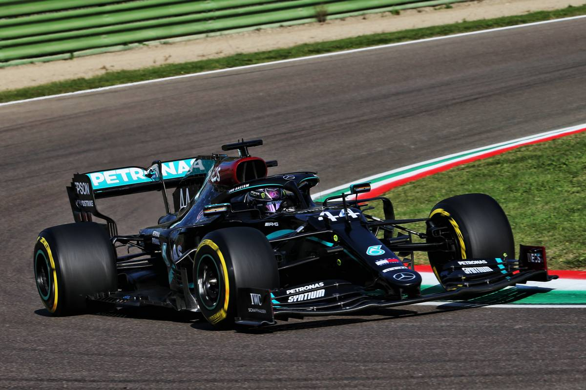 Hamilton blown away by 'incredibly fast' Imola