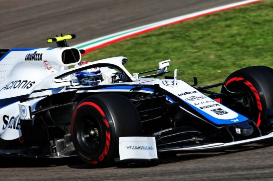 Nicholas Latifi (CDN) Williams Racing FW43. 31.10.2020. Formula 1 World Championship, Rd 13, Emilia Romagna Grand Prix, Imola, Italy, Qualifying Day. - www.xpbimages.com, EMail: requests@xpbimages.com © Copyright: Batchelor / XPB Images