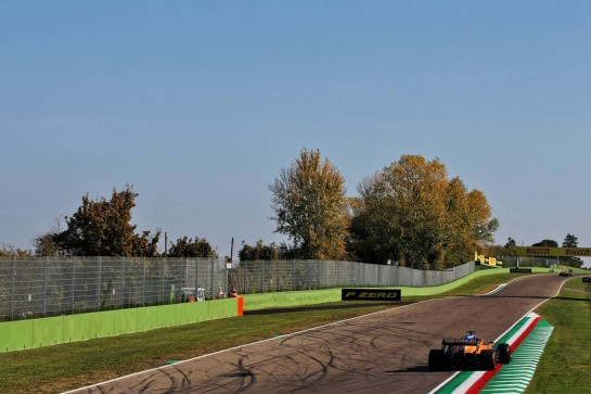 Carlos Sainz Jr (ESP) McLaren MCL35. 31.10.2020. Formula 1 World Championship, Rd 13, Emilia Romagna Grand Prix, Imola, Italy, Qualifying Day. - www.xpbimages.com, EMail: requests@xpbimages.com © Copyright: Batchelor / XPB Images