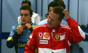 Alonso insists Schumacher 'harder to beat' than Hamilton