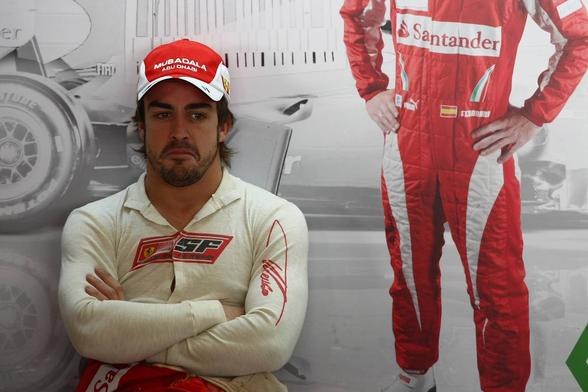 Failure to inject 'self-confidence' limited Alonso success with Ferrari