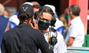 Mercedes' Bonnington still 'wowed' by Hamilton prowess