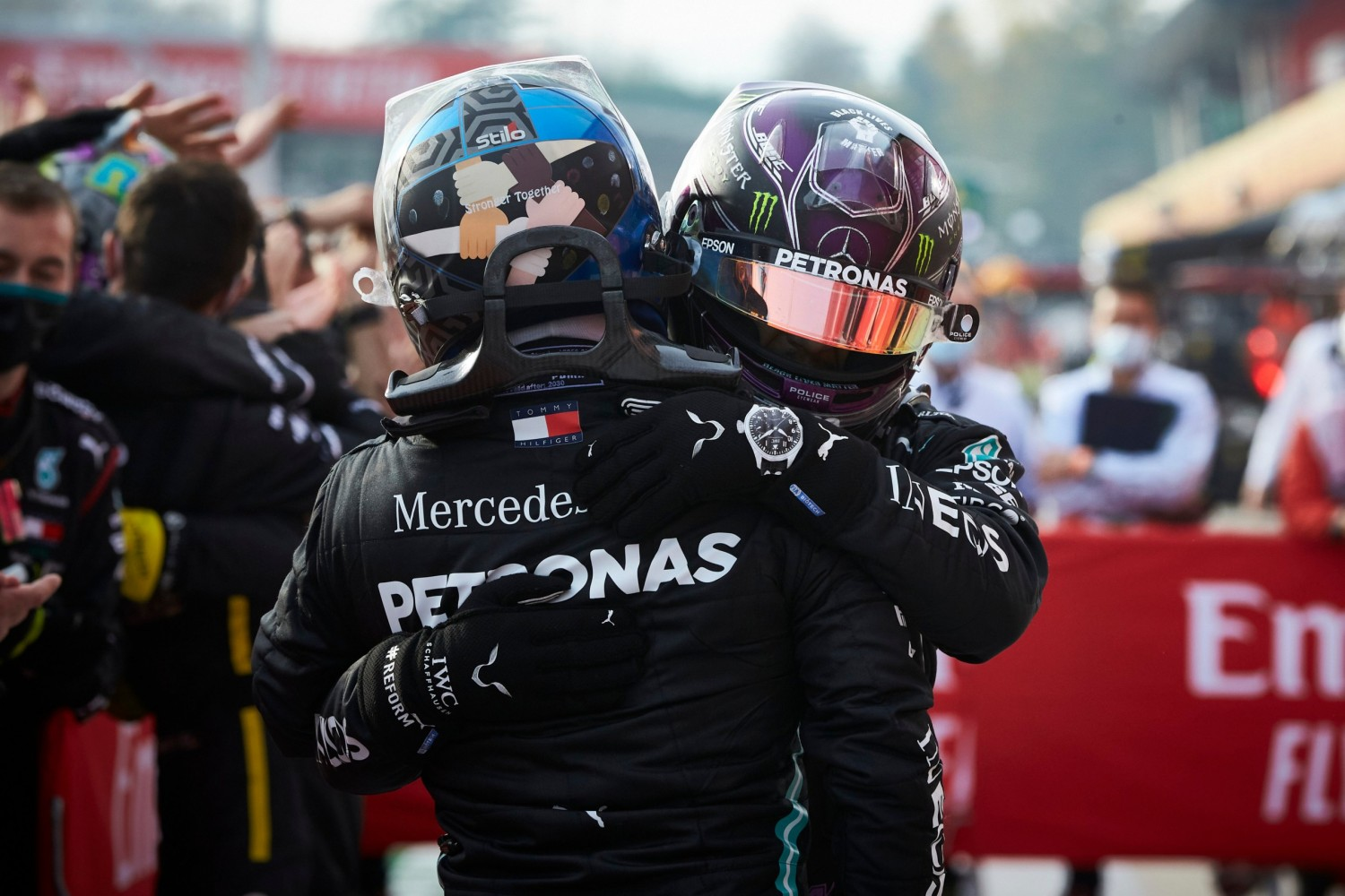Hamilton: Not enough credit for 'incredibly fast' Bottas