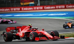 Leclerc admits snatching P3 'very, very difficult' for Ferrari