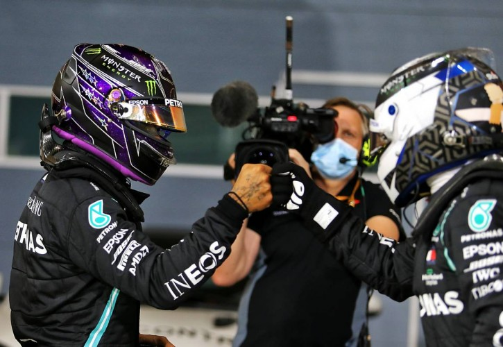 F1 2020 My Driver Career - Sivu 3 Hamilton-Bottas-Mercedes-qualifying-Bahrain-725x500