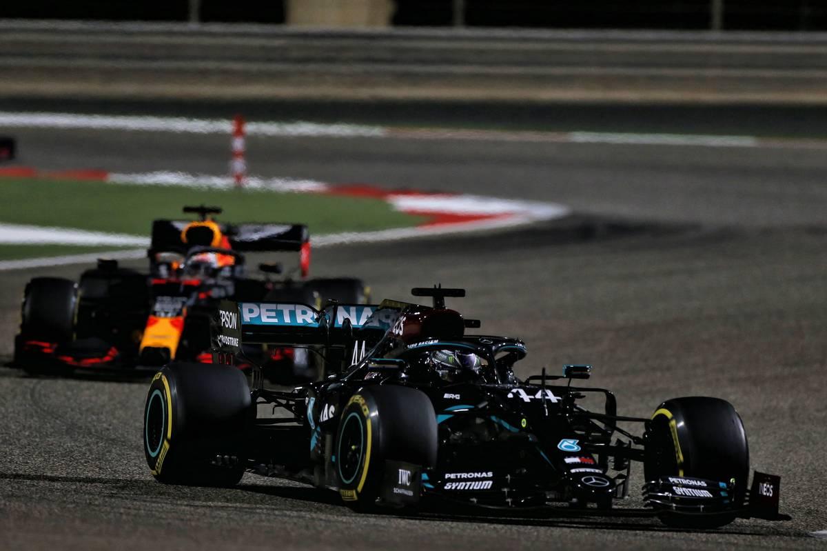 Lewis Hamilton (GBR) Mercedes AMG F1 W11. 29.11.2020. Formula 1 World Championship, Rd 15, Bahrain Grand Prix