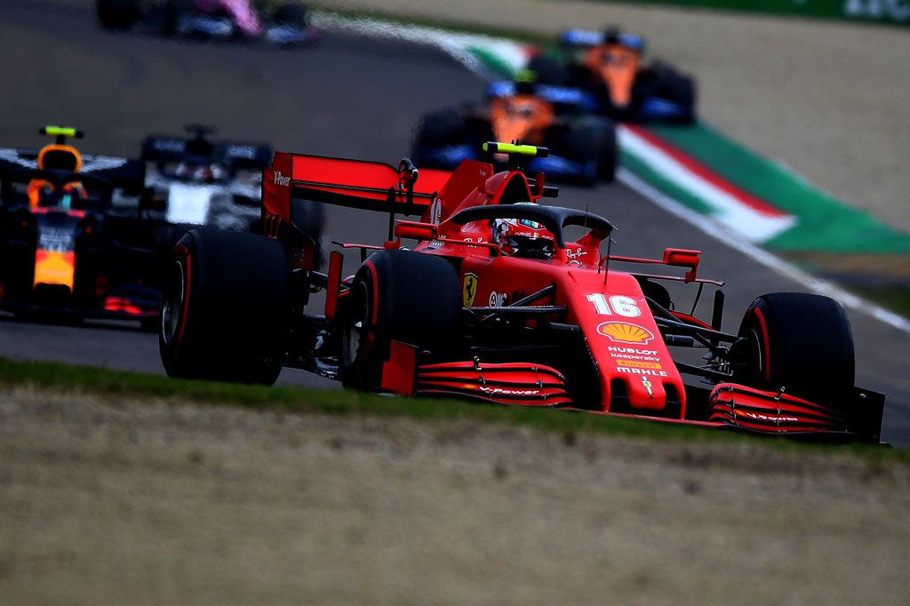 Leclerc mulls whether second pitstop could have secured Imola podium