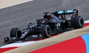 Hamilton and Bottas dominate opening practice in Bahrain