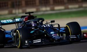 Brawn: Hamilton laps at end of first stint 'stunning'