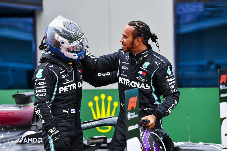 Mercedes: Hamilton-Bottas alpha male duo 'works really well'