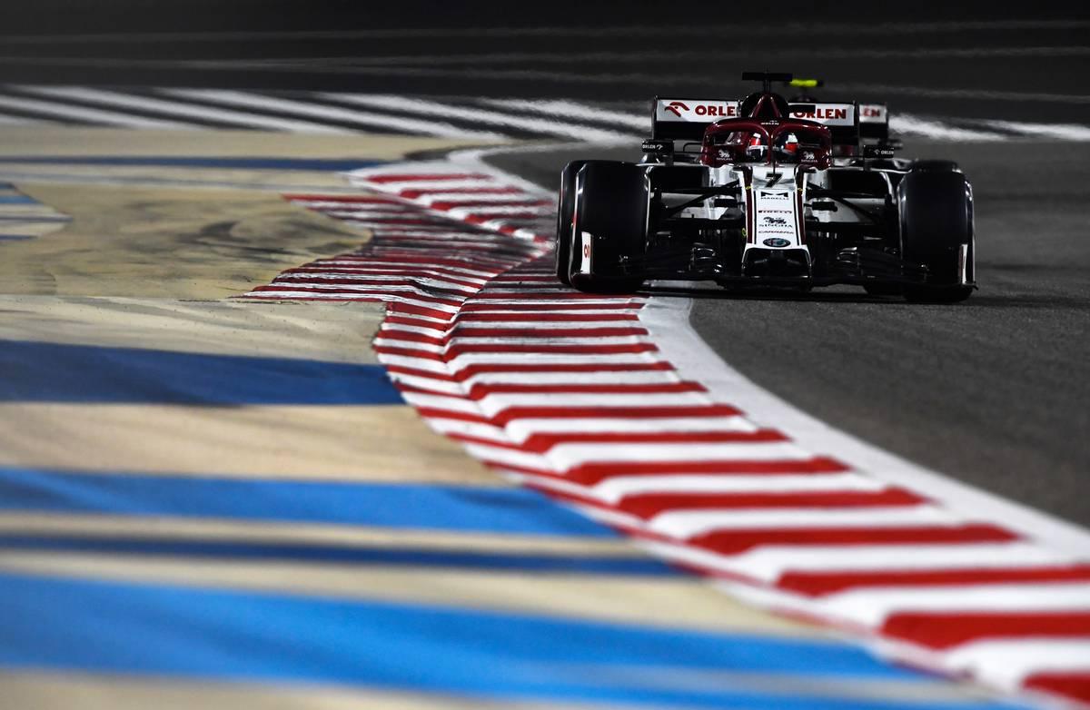 Kimi Raikkonen (FIN) Alfa Romeo Racing C39. 29.11.2020. Formula 1 World Championship, Rd 15, Bahrain Grand Prix