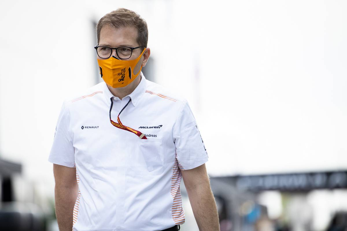 McLaren wary of COVID threat to Constructors' P3 battle