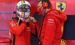 Vettel has 'zero tolerance' for FIA crane mistake in Q2