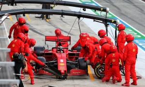 Vettel's ruinous Imola pitstop caused by stripped wheelnut