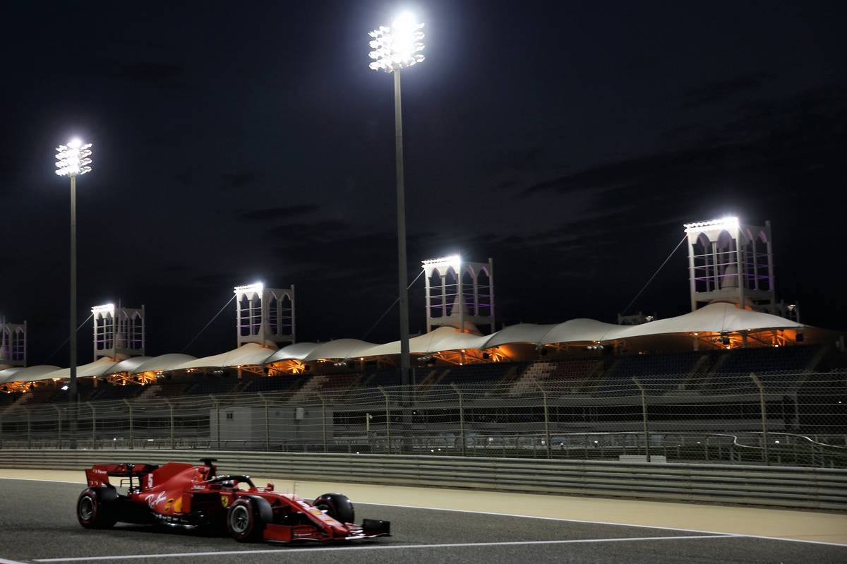 Sebastian Vettel (GER) Ferrari SF1000. 28.11.2020. Formula 1 World Championship, Rd 15, Bahrain Grand Prix