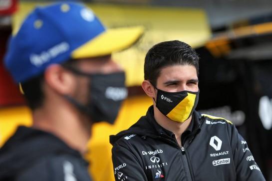 Esteban Ocon (FRA) Renault F1 Team. 01.11.2020. Formula 1 World Championship, Rd 13, Emilia Romagna Grand Prix, Imola, Italy, Race Day. - www.xpbimages.com, EMail: requests@xpbimages.com © Copyright: Moy / XPB Images