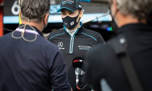 Russell admits to Williams contract rumour anxiety